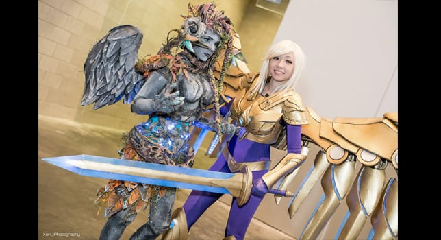 Haunted Zyra and Aether Wing Kayle