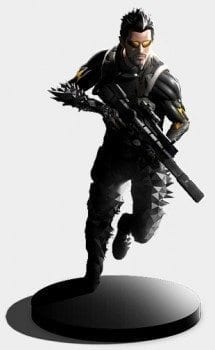 Deus Ex Mankind Divided, collector's edition, statue