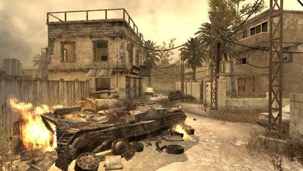 Backlot Call of Duty Modern Warfare Maps