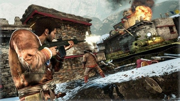Uncharted 2, Nathan Drake, Set Piece, best, moments
