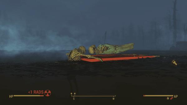 Fallout 4 Far Harbor, Jack, Titanic, easter egg, reference