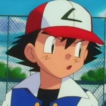 ash confused