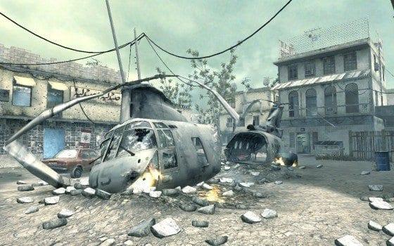 crash map modern warfare call of duty