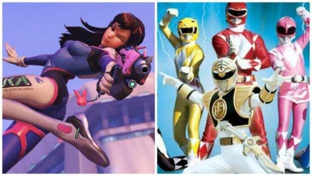D. Va--Power Rangers