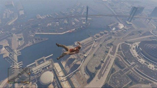 gta low gravity