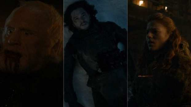 Jeor Mormont, Jon Snow, Ygritte