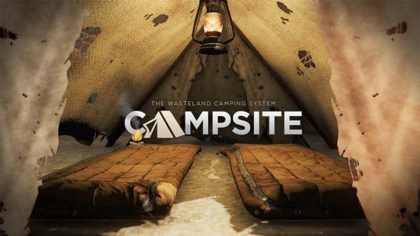Fallout 4 campsite, Xbox One, mods