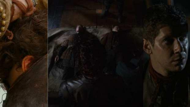 Rakharo, Alton Lannister, Willem Lannister, Martyn Lannister
