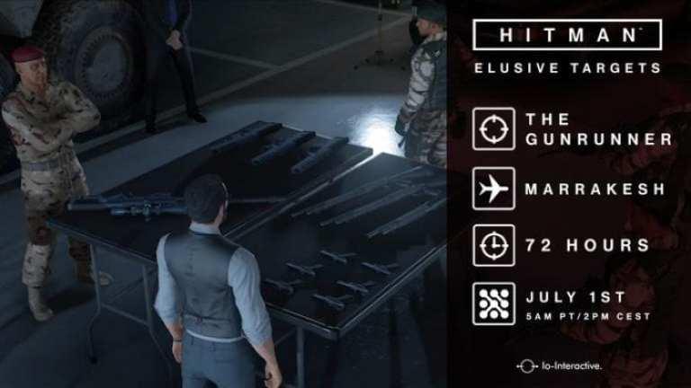 Hitman Elusive Target 5 The Gunrunner