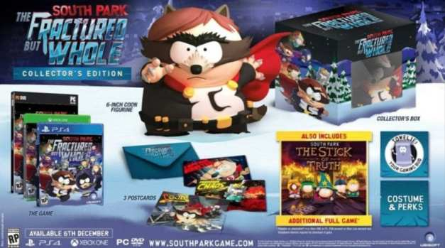 South Park: The Fractured But Whole Release Date and Collector's Edition