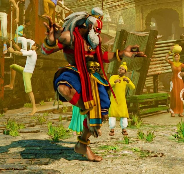 Street Fighter V, Battle Dhalsim