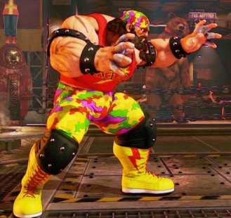 Street Fighter V, Battle Zangief