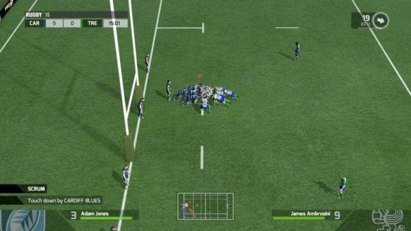 Rugby 15, PS4, Xbox One, PC, rugby