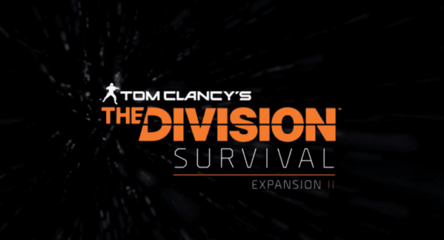The Division Expansion II- Survival