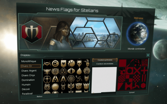 Flags: Emblems and Backgrounds