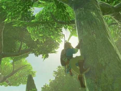 Legend of Zelda, Breath of the Wild, climb, e3, 2016