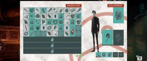 Inventory, we happy few