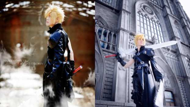 Cloud Strife- Final Fantasy VII: Advent Children