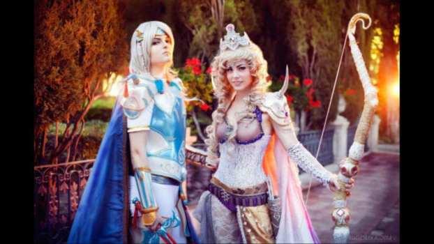 Cecil Harvey and Rosa Farrell - Final Fantasy IV
