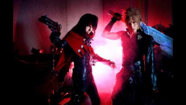 Cloud Strife and Vincent Valentine - Final Fantasy VII