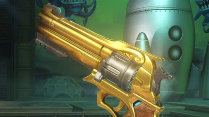 Overwatch golden revolver