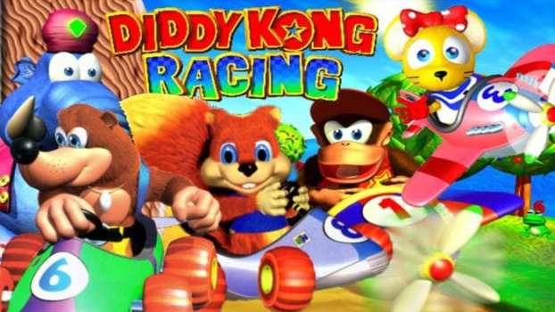 6. Diddy Kong Racing