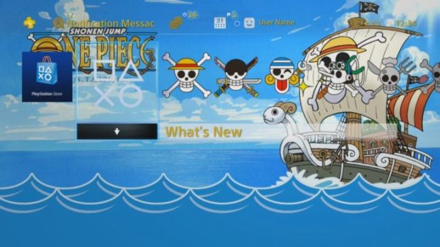 ONE PIECE GOING MERRY DYNAMIC THEME 2.0
