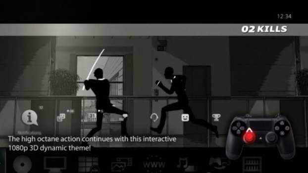 3D Retaliation Rampage Interactive Dynamic Theme