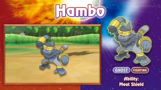 Hambo Pokemon
