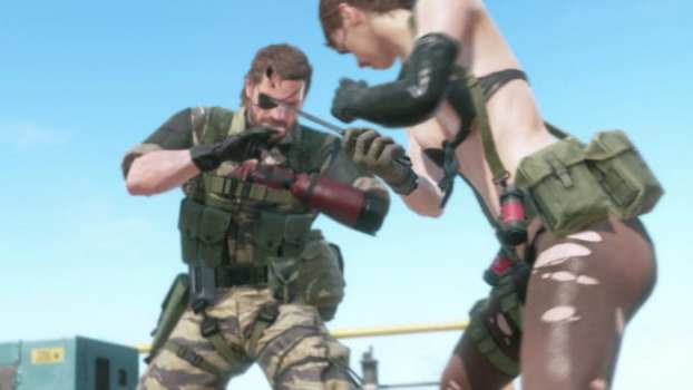 1. In Metal Gear Solid V, what usable item does