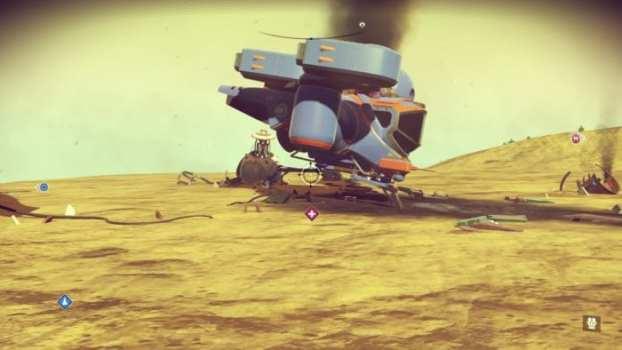 Loot crashed ships
