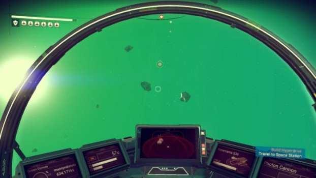 Shoot said asteroids