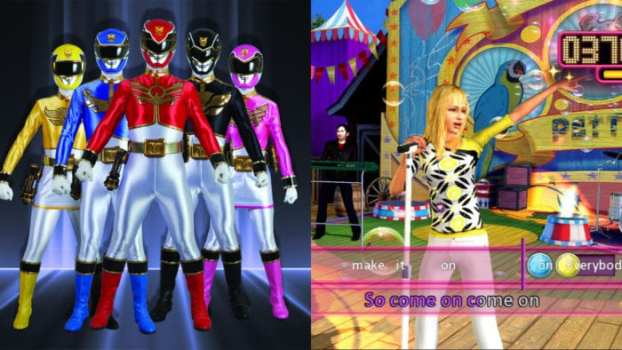 Power Rangers Megaforce vs. Hannah Montana: The Movie