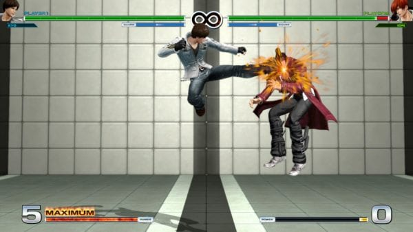 The King of Fighters XIV, Kyo Anti-Air