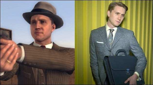 Detective Cole Phelps - Aaron Staton (L.A. Noire)