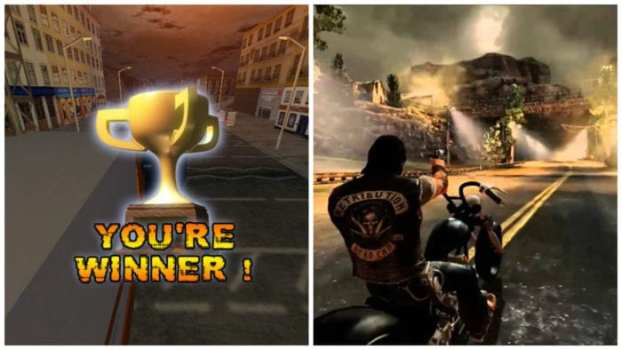 Big Rigs: Over the Road Racing vs. Ride to Hell: Retribution
