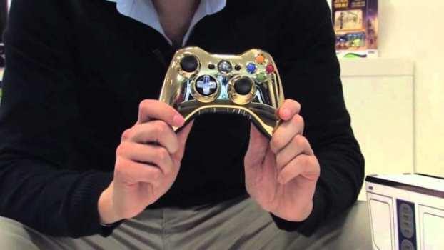 Star Wars C3P0 Xbox 360 Controller