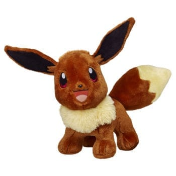 eevee build a bear plush