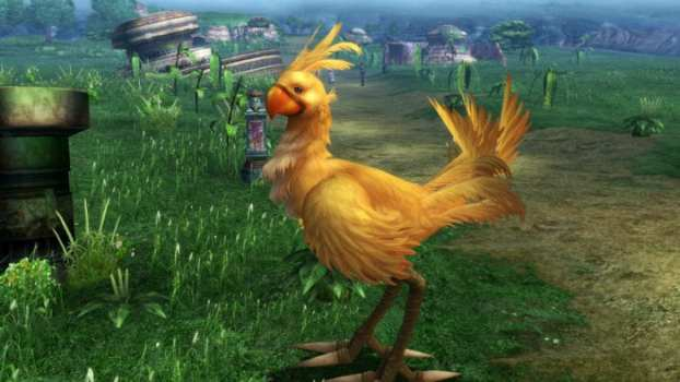 16) Chocobo Games