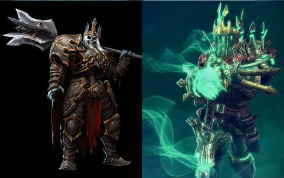Wraith King (Dota 2) vs Leoric (Heroes of the Storm)