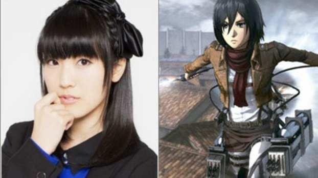 Yui Ishikawa as Mikasa Ackerman