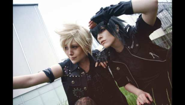 Prompto and Noctis