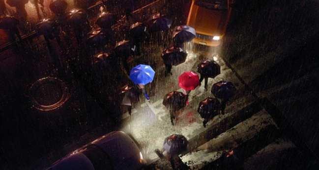 8. The Blue Umbrella