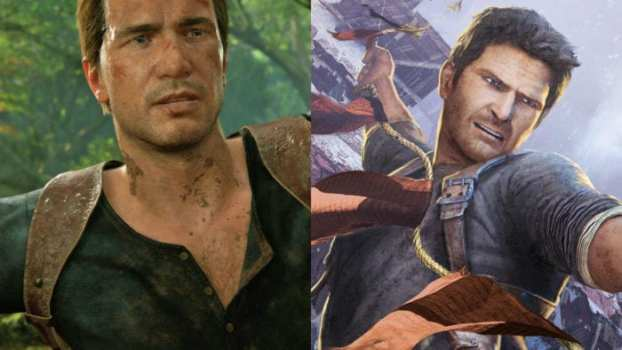 Uncharted 4 (PS4) vs. Uncharted 2 (PS3)