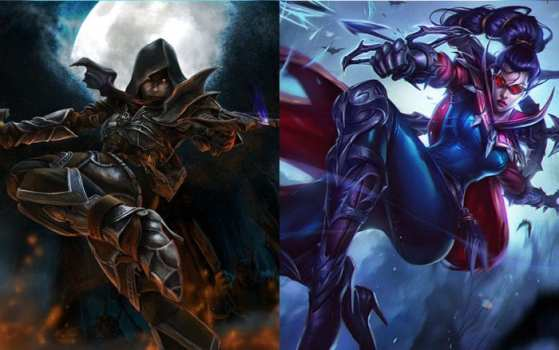 Valla (Heroes of the Storm) vs Vayne (League of Legends)