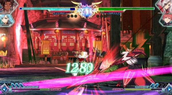 Blade Arcus from Shining, Combat