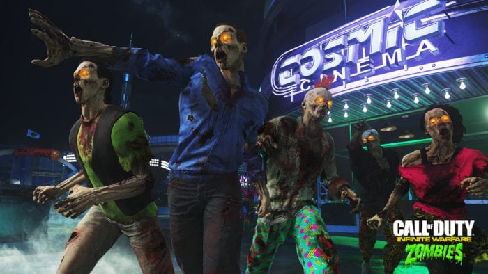 Call of Duty Infinite Warfare Zombies in Spaceland