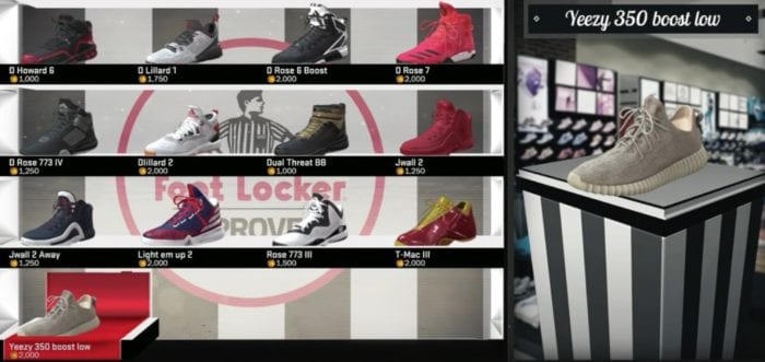 NBA 2K17: How to Get the Yeezy Boost