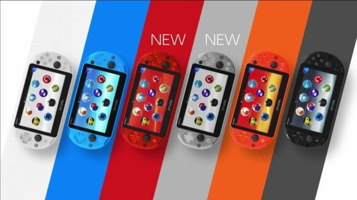 PS Vita colors