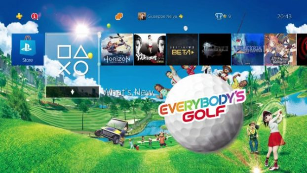 Everybody's Golf Dynamic Theme